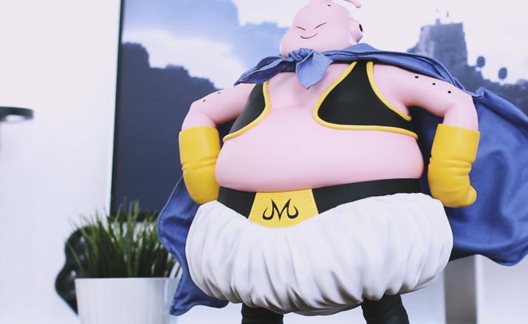 Unboxing: Figurine Majin Buu Gigantic Series X-Plus