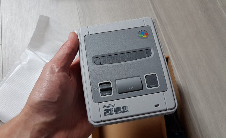 Super Metroid sur Super Nes Mini