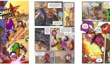 Sonic Forces : avant le jeu, la BD