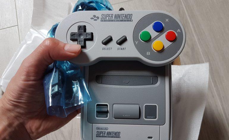 consoles mini snes