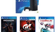 Black Friday : PS4 Pro + 5 jeux (dont Uncharted, GT Sports, Horizon) soldés