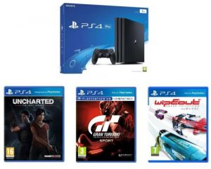 black friday ps4 pro 5 jeux dont uncharted gt sports horizon sold s le mag jeux high tech. Black Bedroom Furniture Sets. Home Design Ideas