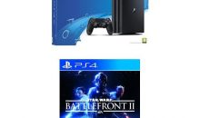 Les PS4 Pro et Slim en promo Black Friday avec Star Wars Battlefront 2