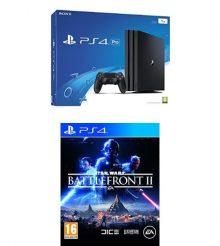 Les PS4 Pro et Slim en promo Black Friday avec Star Wars Battlefront 2