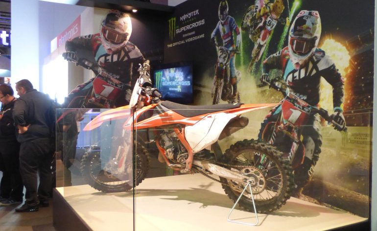 Paris Games Week 2017 Monster Energy Supercross Preview