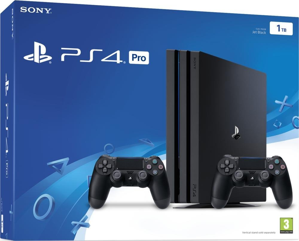 la sony playstation 4 pro passe 339 euros avec 2. Black Bedroom Furniture Sets. Home Design Ideas