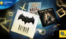 PS+ : les jeux gratuits de janvier
