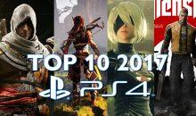 Top 10 : les meilleurs jeux de l'année sur PS4 ! (Guide de Noël)