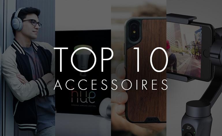 Top 10 2017 : Les meilleurs accessoires high-tech