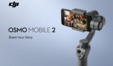 Le DJI Osmo Mobile 2 stabilise votre smartphone