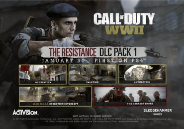 Call of Duty WWII, la résistance est là !