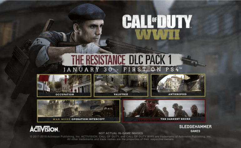 Call of Duty WWII, la résistance est là !