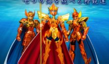 La Myth Cloth (Saint Seiya) EX de Poséidon «Deluxe» se détaille
