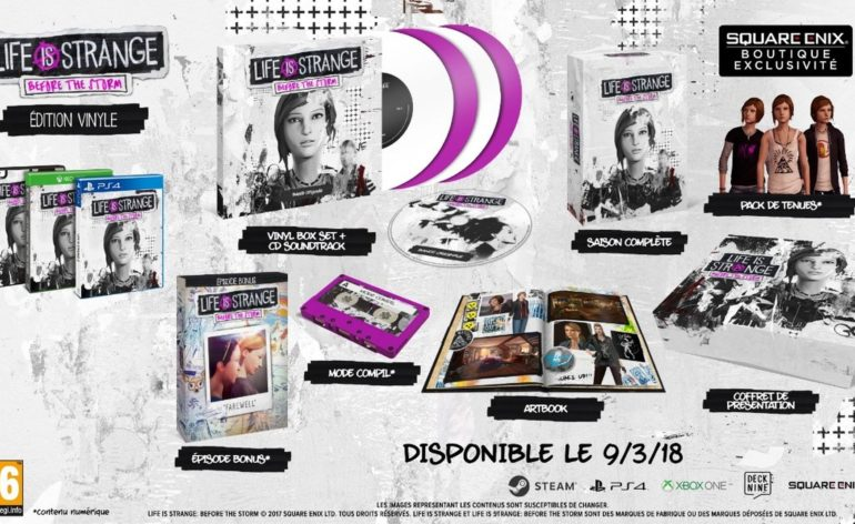 Life is Strange: Before the storm version physique