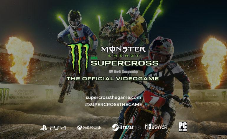Monster Energy Supercross, un éditeur de circuits dans le jeu !