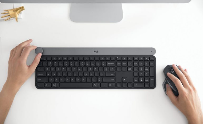 Logitech Craft : un clavier pour les créatifs
