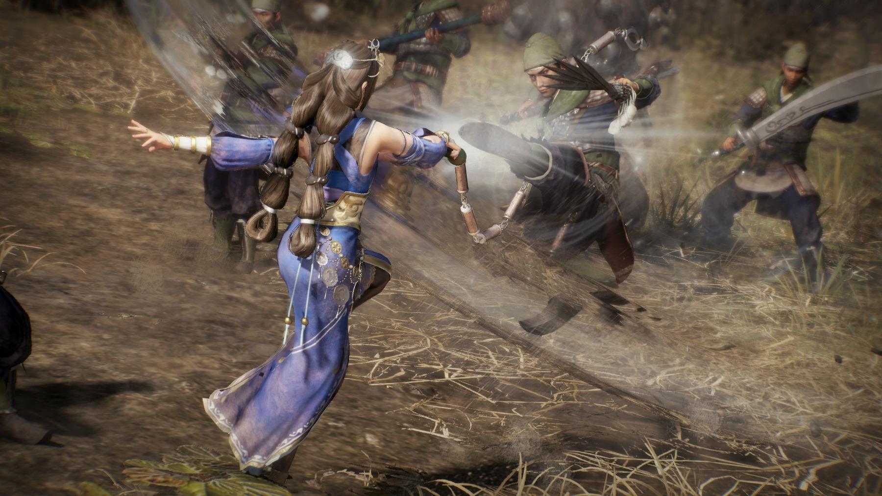 Dynasty Warriors 9 dévoile son art de la guerre et