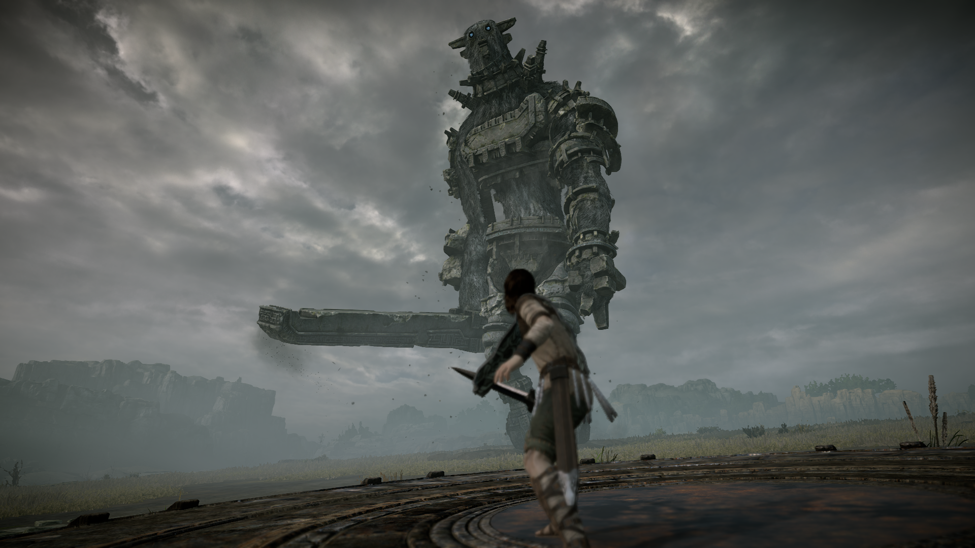 test de shadow of the colossus sur ps4 un remake la hauteur le mag jeux high tech. Black Bedroom Furniture Sets. Home Design Ideas