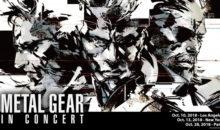 Metal Gear : un concert annoncé dans la capitale !