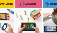 L'atelier Toy-Con du Nintendo Labo s'anime en vidéo