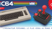 The C64 MINI, le retrogaming pour les anciens