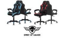 Spirit of Gamer présente 2 nouveaux sièges gaming