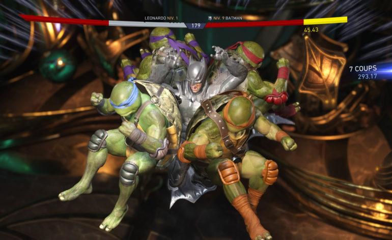 Test du dlc tortues ninja dans injustice 2 le mag jeux - Rat dans tortue ninja ...
