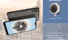 La caméra HUAWEI EnVizion offerte pour toute précommande d'un P20