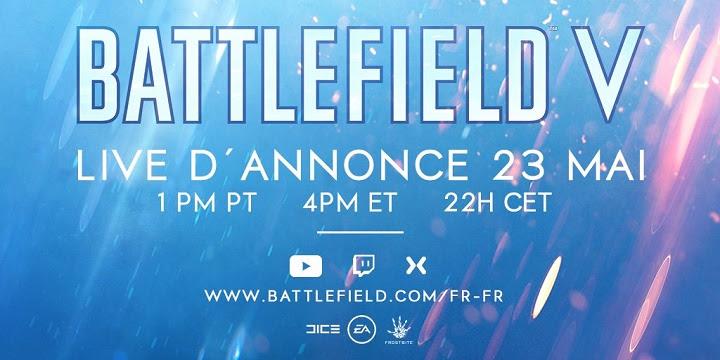 Battlefield V nous donne rendez-vous en direct dans quelques jours ...