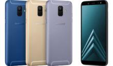Galaxy A6 et A6+ : taillés pour les selfies, même en basse-lumière