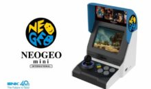 La Neo Geo Mini annoncée en images, avec 40 jeux !