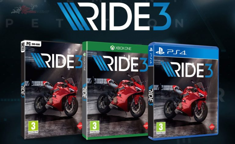 Ride 3, une vidéo making-of pour découvrir le jeu