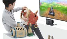 Un ensemble pédalier et volant sur Switch ? Oui, avec Toy-Con 3, le retour !
