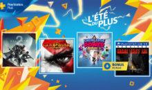 Les jeux PS+ de septembre 2018
