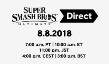 Un Nintendo Direct Super Smash Bros Ultimate mercredi !