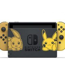 L'offre Switch avec console et Pokémon Let's Go chez Micromania