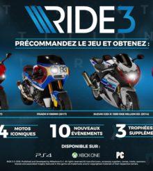 RIDE 3, on connait la date de sortie et la liste des motos du jeu !