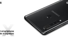 Galaxy A9 : Samsung présente son smartphone à quadruple capteur arrière