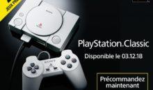 La Playstation Classic Mini dispo chez Fnac et Micromania