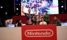 PGW18 : calamars et jets de carapaces en vue, sur le stand Nintendo