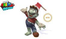 Super Mario Odyssey : Mutation de Mario en Zombie pour Halloween