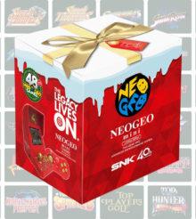 Une Neo Geo Mini «Noël» de couleur rouge, annoncée par JustforGames [Màj]