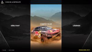 Test Dakar 18