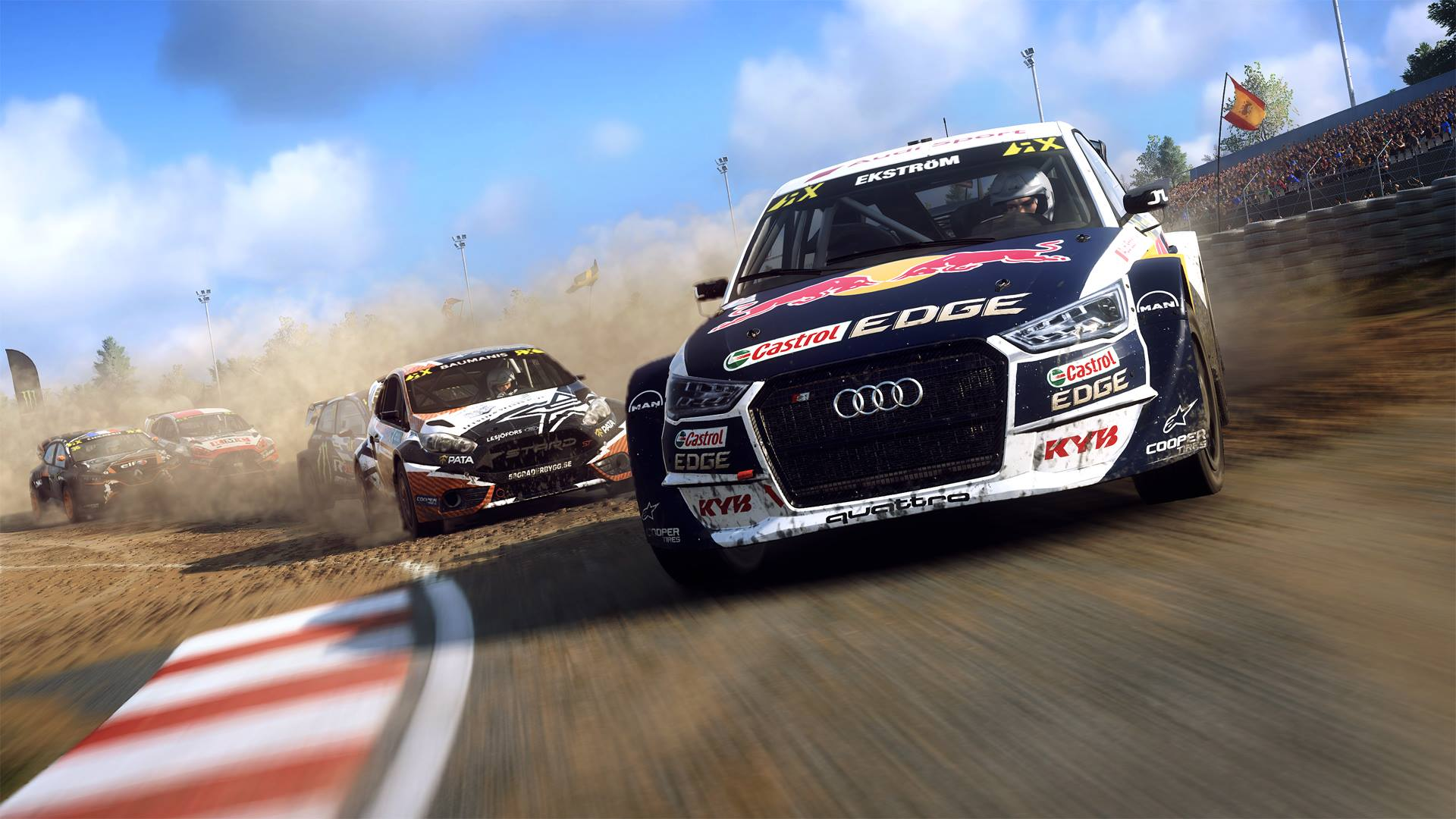 dirt rally 2 0 proposera un mode rallycross le mag jeux high tech. Black Bedroom Furniture Sets. Home Design Ideas
