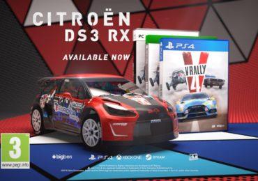 Une DS3 de Rallycross en DLC pour V-Rally 4 !