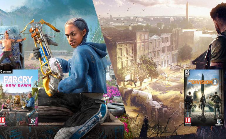 Just For Games distribuera deux jeux Ubisoft en boîte pour PC !