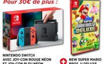 Consoles Switch avec jeux et abonnement Online chez Micromania