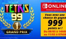 Tetris 99 Grand-Prix, une compétition en ligne dotée de points «or»