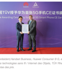 Le Huawei Mate X devient Smartphone 5G !