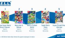 Quintuplé Switch dans l'hexagone (meilleures ventes)